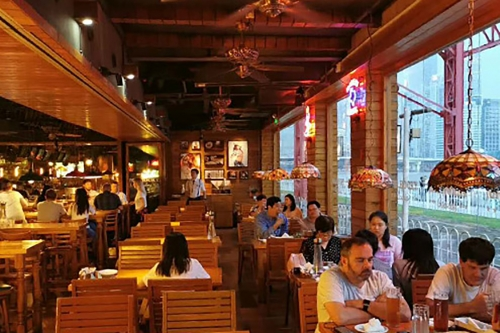 Guangbaishi lighting transformation case - after the transformation of Guangzhou rocky Restaurant