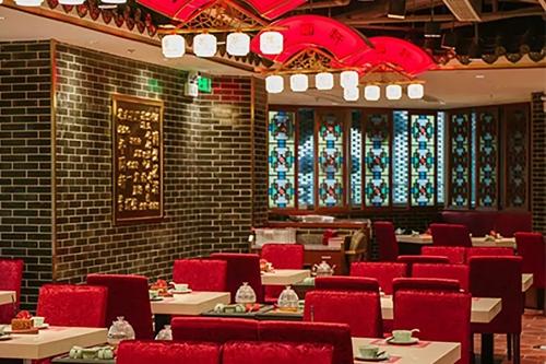 Guangbaishi lighting design case - Shanghai fengyuanxuan Restaurant
